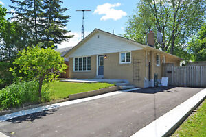DETACHED BUNGALOW WITH TWO BED ROM FINISHED BASEMENT