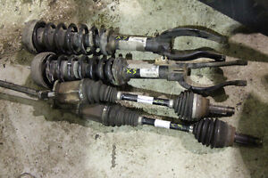 BMW X5 E70 front shocks and Axles OEM 2007 - 2013