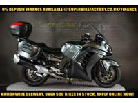 2014 64 KAWASAKI GTR1400 ZG 1400 CDF 1400CC 0% DEPOSIT FINANCE AVAILABLE