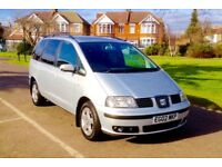 2002 seat Alhambra 1.9 TDI SE automatic 7 seater 3 month mot 125000 mileage not ford Galaxy