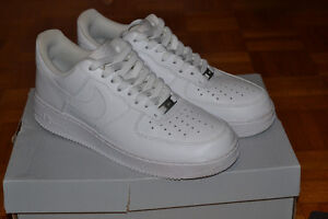 VNDS All White Nike Air Force 1s