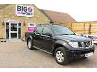 2005 NISSAN NAVARA AVENTURA DCI 4X4 SHR SWB DOUBLE CAB WITH MOUNTAIN TOP PICK UP