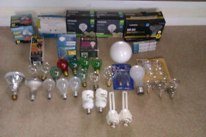 53 Assorted Light Bulbs (Well over $150 value for $20)
