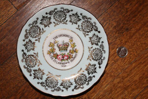 1959 Small Commemorative Plate - St. Lawrence Seaway