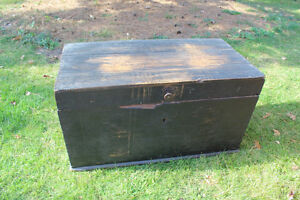 Old Antique Settler's Box/Chest London Ontario image 1