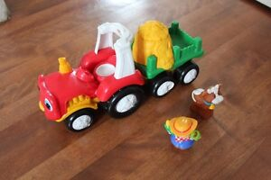 Tracteur sonore Little People Fisher price 3/4 ans et plus