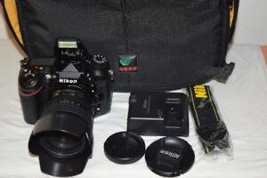 Nikon D7100 24.1MP DSLR Body with AF-S DX  18-70 mm lens