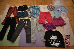 Girl clothes (5-7 yrs)