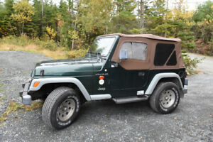 Beautiful 1999 Jeep Wrangler TJ 4 Cyl.