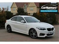 2018 BMW 2 Series 2.0 218D M SPORT 2d 148 BHP Coupe Diesel Manual