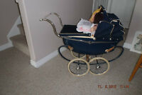 Dolls pram/ English Triang.