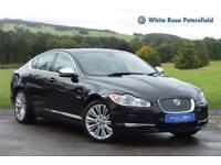 2010 Jaguar XF 3.0d V6 Premium Luxury 4dr Auto Diesel black Automatic