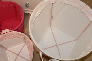 Pottery Barn Kids Canvas Storage Buckets - $30, $20 Belleville Belleville Area image 7