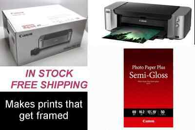CANON PIXMA, Pro-100 Printer, NEW, no ink/head + Paper & CD  (local pickup only)