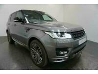 2014 GREY RANGE ROVER SPORT 3.0 SDV6 HSE DIESEL AUTO CAR FINANCE FR £418 PCM