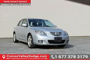 2006 Mazda Mazda3 GT POWER LEATHER HEATED SEATS, SUNROOF, KEY...