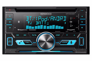 Kenwood DPX502BT Dual Din Sized CD Receiver With USB Interface