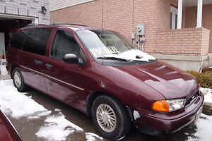 1998 Ford Windstar Minivan with hitch and trailer Kitchener / Waterloo Kitchener Area image 1