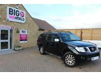 2012 NISSAN NAVARA OUTLAW DCI 231 4X4 DOUBLE CAB WITH TRUCKMAN TOP PICK UP DIESE