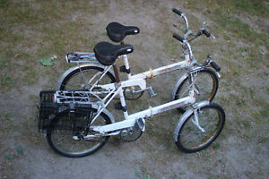 VINTAGE Cycle Rite 3 Speed in the hub FOLDING Bikes