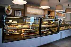 Straight Glass Pastry Bakery Chocolate Cake display case