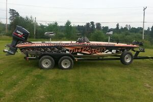 Bass Boat, ready to go