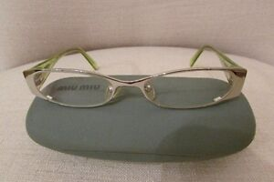 eye glasses with matching cases $40 each, or all 3 for $110