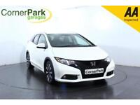 2014 HONDA CIVIC I-DTEC SR TOURER ESTATE DIESEL