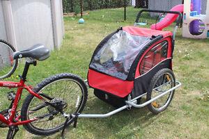 remorque vélo enfant