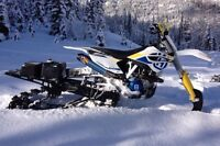 2014 Husqvarna FC 450 Timbersled-trade for jeep or Tacoma