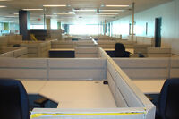 TEKNION TOS WORKSTATIONS, USED, EXCELLENT CONDITION