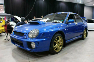2001 Subaru Impreza STI JDM RHD Version 7 Lachute Performance