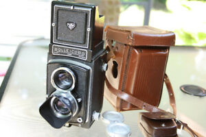 Rolleicord 6x6 Carl Zeiss lens 120mm Medium Format film camera