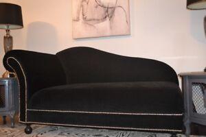 Velvet Sofa Chaise