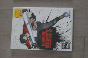 Video Game No More Heroes for Nintendo Wii