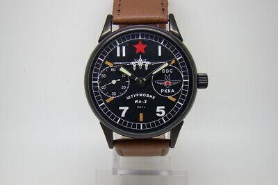 SHTURMOVIK FIGHTER IL-2 PILOT MILITARY WATCH 3602 WW2 TYPE RUSSIAN SOVIET USSR  Fighter Pilot Watch
