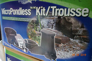Aquascape Micropondless Kit - Price Reduced!