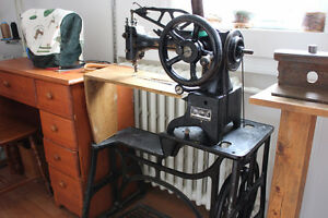 Machine a coudre cordonnier