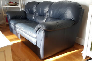 Matching Couch & Loveseat (leather)