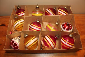 Vintage Boxes of Glass Christmas Ball Ornaments #1 London Ontario image 5