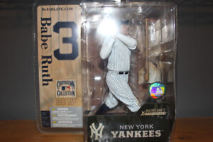 McFarlane Babe Ruth Mint New in Package - Cooperstown
