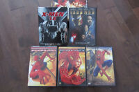 Spiderman 1 & 2 & 3 DVD Collection & more