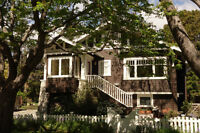 Sun-filled, Character Home on .26 acre in Oak Bay - Furnished