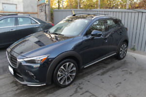 Mazda CX-3 GT - LEATHER, SUNROOF, NAV - 5 month old, like new