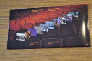 Stamps: 1996 Cinema in Canada issues. Scott 1615+