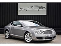 Bentley Continental GT 6.0 W12 * Silver Tempest + Portland Hide + Burr Oak *