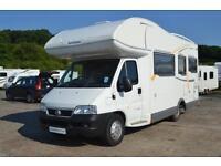 Benimar Europe 6000ST Coachbuilt Motorhome for Sale 6 Berth 6 Seatbelts U Lounge