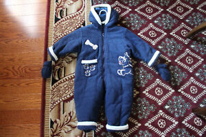 (Rarely Used) Baby Winter Overalls: Great Quality - $15