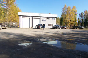 Large, 4 bay, drive through shop for sale Prince George British Columbia image 1