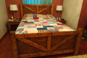 Bed- solid wood